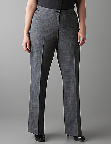 Crosshatch trouser with Tighter Tummy Technology