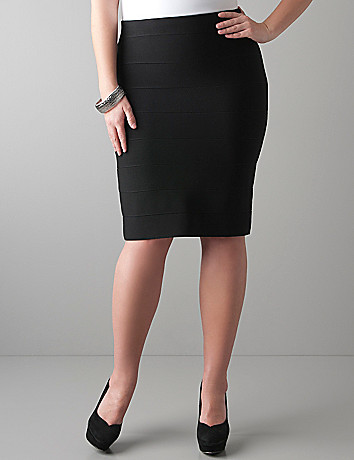 Ottoman skirt by Lane Bryant