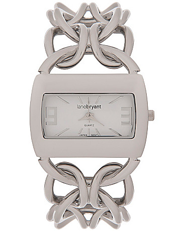 Chain link watch by Lane Bryant