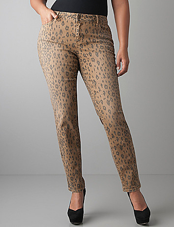 Plus size Animal print jegging by DKNY JEANS
