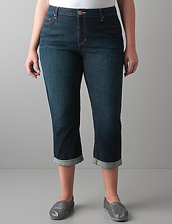 Soho denim crop by DKNY JEANS