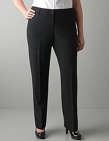 Straight leg pant with Tighter Tummy Technology
