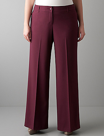 Plus size Wide leg trouser by Lane Bryant