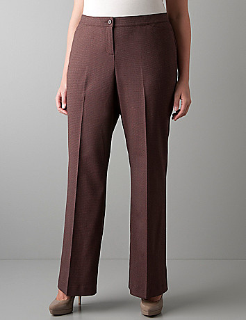 Patterned trouser with Tighter Tummy Technology