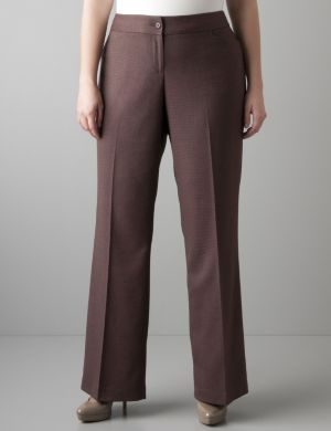 Patterned classic trouser