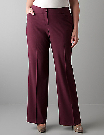 Plus sized classic trouser by Lane Bryant
