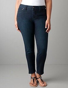 Full figure Power stretch skinny denim by Lane Bryant