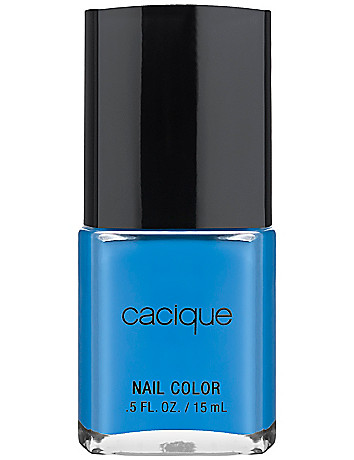 Ocean Blue nail color by Cacique