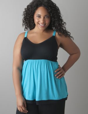 Colorblock cami