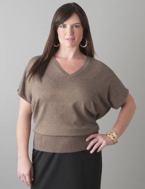 Dolman sparkle sweater