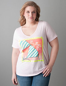 La Belle Vie bikini tee by Lane Bryant