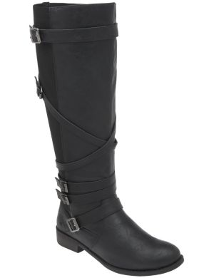 Five buckle riding boot