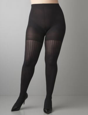 SPANX® Coil stripe tights