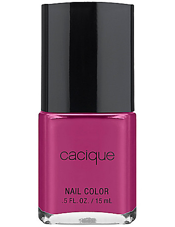 Raspberry Wine nail color by Cacique