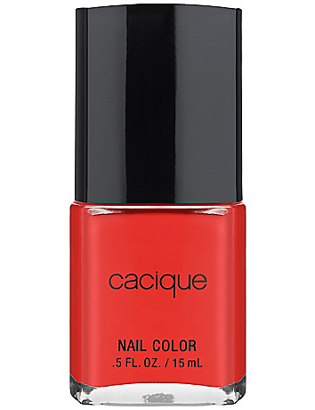 Flame nail color by Cacique
