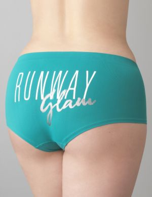 Runway Glam seamless boyshort panty