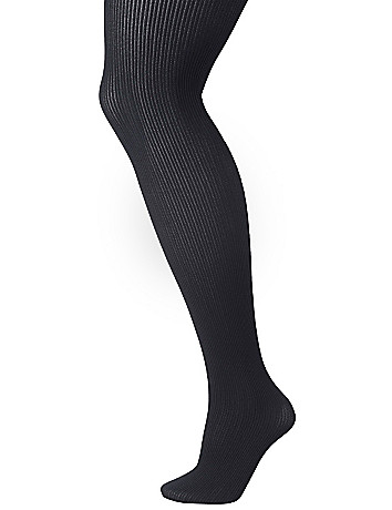 Mini ribbed tights by Lane Bryant
