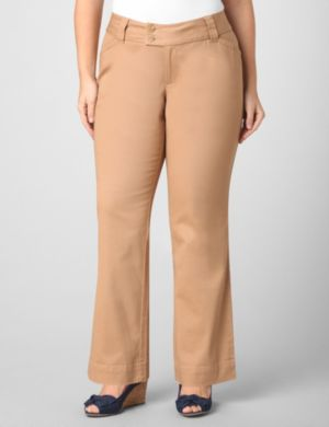Two-Button Tab Trouser