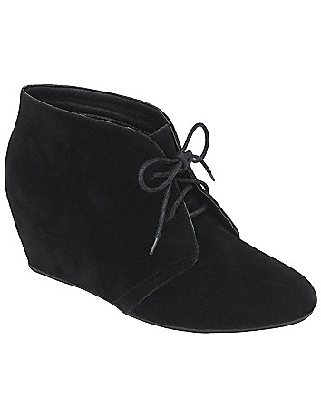 Hidden wedge ankle boot by Lane Bryant