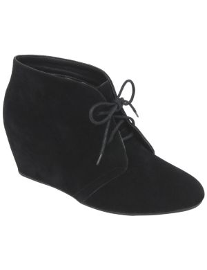 Hidden wedge ankle boot