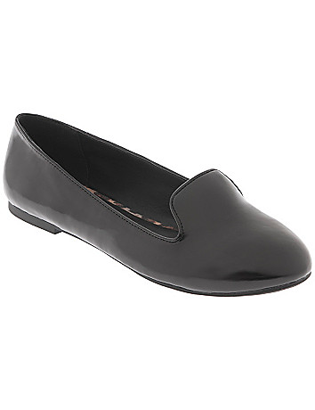 Patent slipper by Lane Bryant