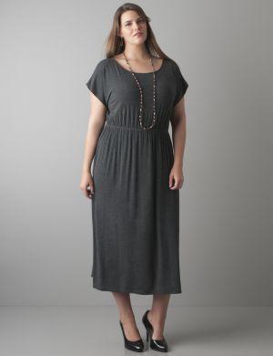 Midi tee dress