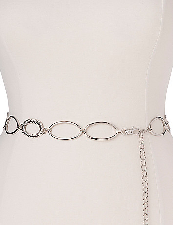 Chain link belt by Lane Bryant