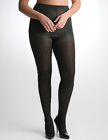 Plus Size Animal Print Tights by Lane Bryant