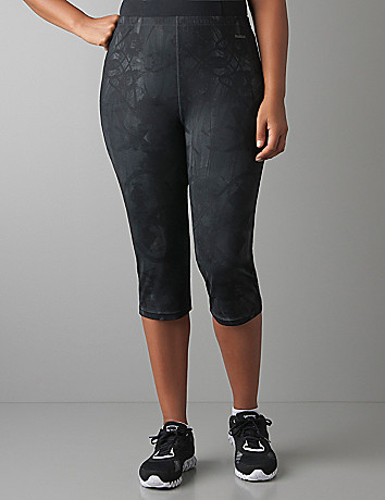 Plus Size PlayDry Active Capri by Reebok