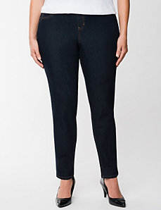 Dark rinse skinny jean by Lane Bryant