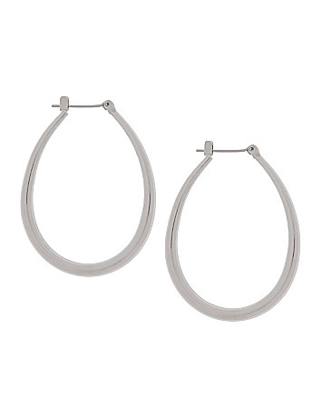 Tube teardrop earrings by Lane Bryant