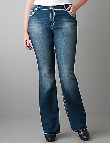 Plus Size Slim Boot Jean by Lane Bryant