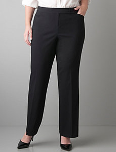 Sexy Stretch tabbed waist trouser by Lane Bryant