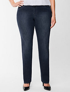 Straight leg jean by Lane Bryant