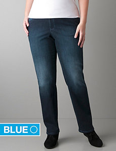 Straight leg jean with Right Fit Technology
