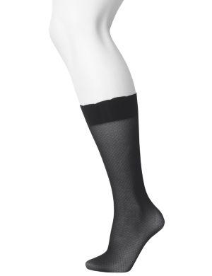 Patterned trouser sock 2-pair combo