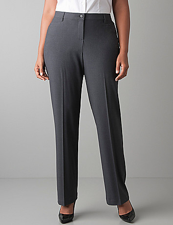 Straight leg trouser with Tighter Tummy Technology