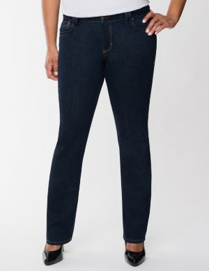 Straight fit bootcut jean
