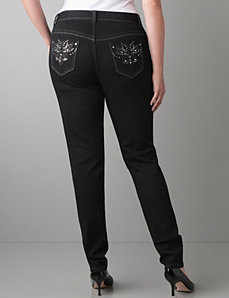 Embellished skinny jean by Lane Bryant