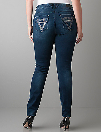 Plus Size Embellished Skinny Jean by Seven7