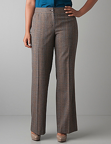 Plus Size Plaid Suit Trouser by Lane Bryant