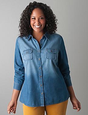 Size Jean Shirt