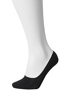 Footie sock 2-pack combo by Lane Bryant