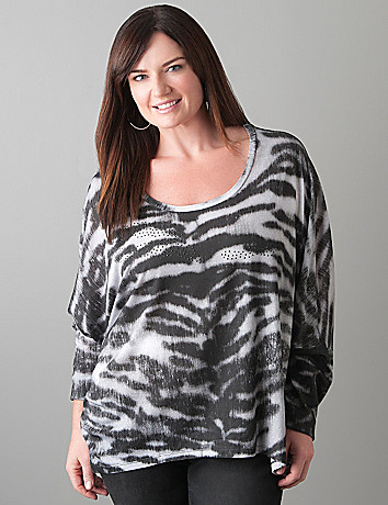 Tiger dolman top by Seven7