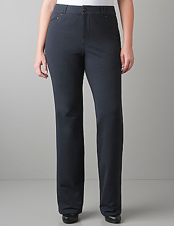 Plus size Bootcut knit pant by Lane Bryant