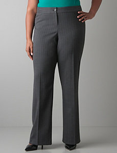 Subtle stripe pant by Lane Bryant