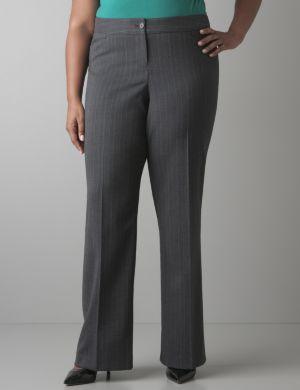 Subtle stripe pant
