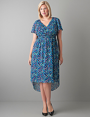 High low chiffon dress by Lane Bryant