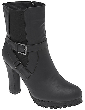 Buckled ankle boot by Lane Bryant