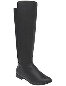 Stretch calf riding boot by Lane Bryant